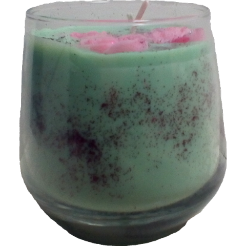 Flower Bomb Perfume Inspired Soy Wax Candle